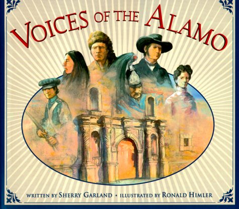 9780590988339: Voices of the Alamo