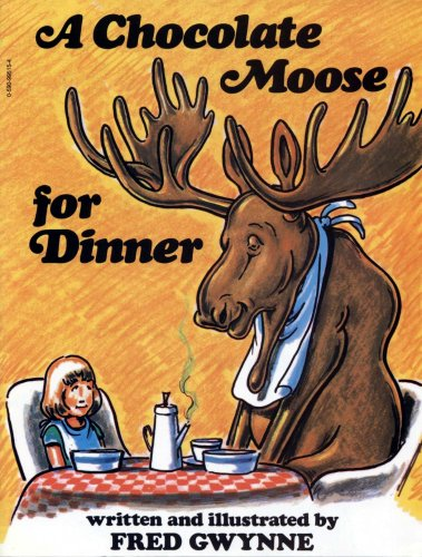 9780590995153: A Chocolate Moose for Dinner
