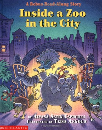 9780590997157: Inside a Zoo in the City: A Rebus Read-along Story