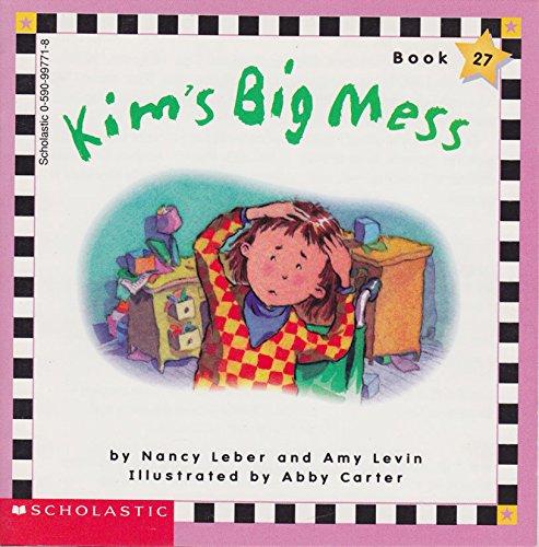 Kim's Big Mess (Book 27) (Scholastic Phonics: Nancy Leber and
