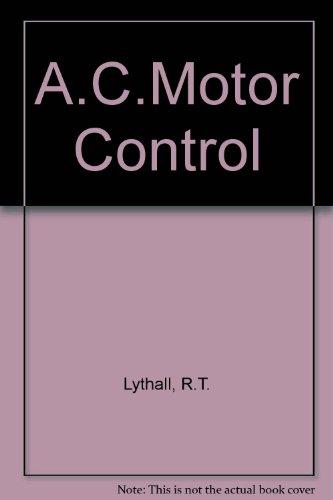 9780592000558: A.C.Motor Control
