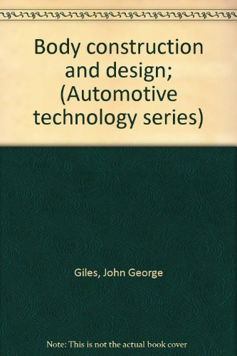 9780592006451: Automotive Technology: Body Construction and Design v. 6 (Automotive technology series)