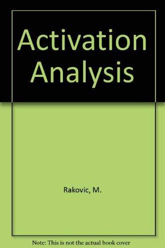 Activation Analysis: Rakovic, M.
