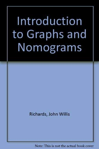9780592039053: Introduction to Graphs and Nomograms