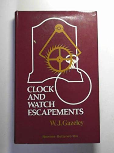 9780592065137: Clock and Watch Escapements