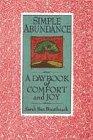 Simple Abundance - A Daybook Of Comfort And Joy: Ban Breathnach, Sarah