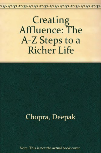 9780593044490: CREATING AFFLUENCE