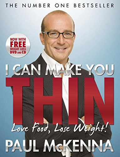9780593064436: I Can Make You Thin - Love Food, Lose Weight: New Full Colour Edition (Includes free DVD and CD)