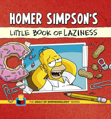 9780593073001: Homer Simpson's Little Book of Laziness
