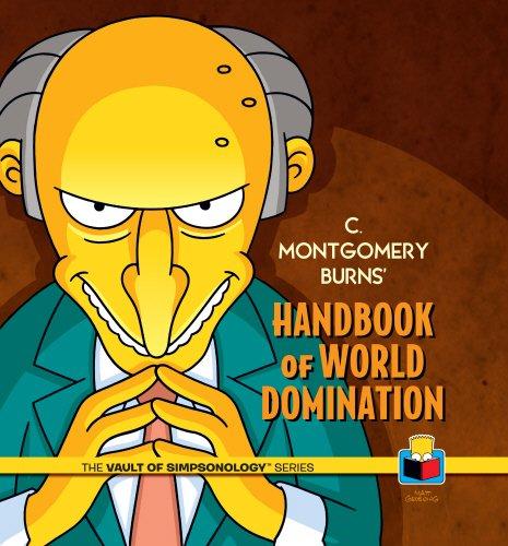 9780593073025: C. Montgomery Burns' Handbook of World Domination (Vault of Simpsonology)