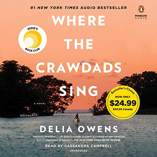 Book Cover: Where the Crawdads Sing