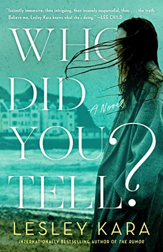 Book Cover: Who Did You Tell?: A Novel