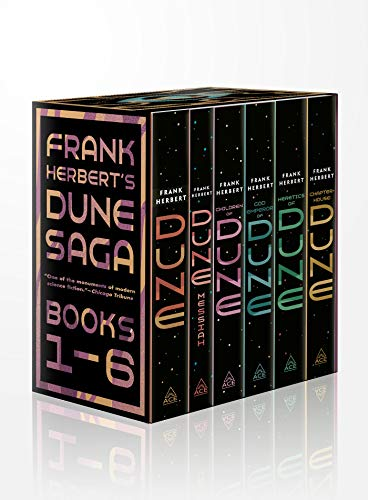 9780593201886: Frank Herbert's Dune Saga 6-Book Boxed Set: Dune, Dune Messiah, Children of Dune, God Emperor of Dune, Heretics of Dune, and Chapterhouse: Dune