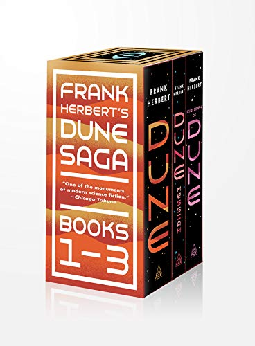 9780593201893: Frank Herbert's Dune Saga 3-Book Boxed Set: Dune, Dune Messiah, and Children of Dune