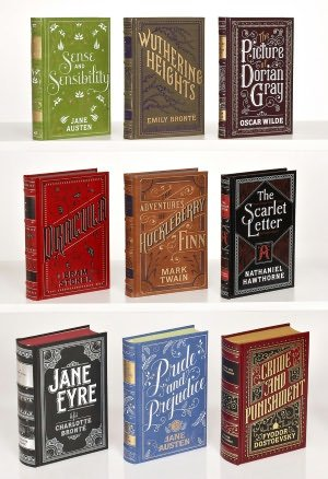 9780594157427: Classic Novels 9 Volume Collection (Barnes & Noble Leatherbound Classics)