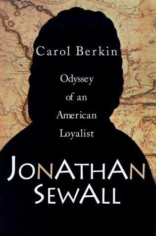 9780595000203: Jonathan Sewall: Odyssey of an American Loyalist