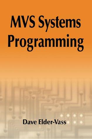 9780595001842: MVS Systems Programming