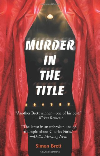 9780595003532: Murder In The Title (Charles Paris Mysteries)