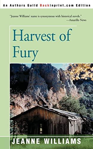 9780595004461: Harvest of Fury
