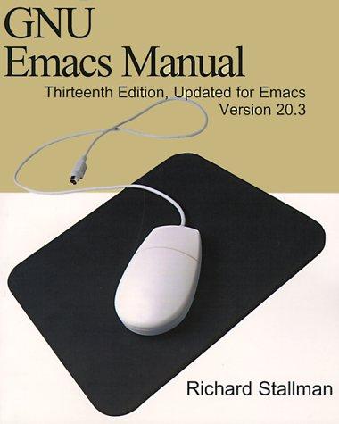 9780595100330: Gnu Emacs Manual