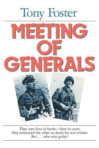 9780595137503: Meeting of Generals