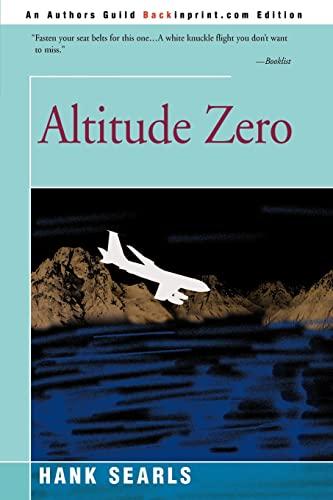 9780595144518: Altitude Zero