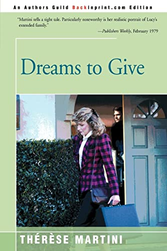 Dreams to Give: Therese Martini
