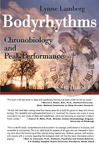9780595147854: Bodyrhythms: Chronobiology and Peak Performance