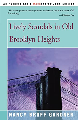 9780595151035: Lively Scandals in Old Brooklyn Heights