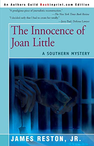 9780595153237: The Innocence of Joan Little: A Southern Mystery