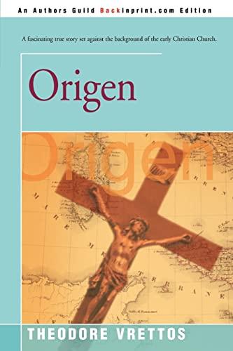 9780595166855: Origen