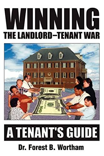 9780595179312: Winning The Landlord-Tenant War: A Tenants Guide