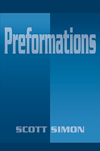 Preformations (0595180140) by Simon, Scott