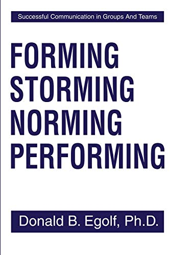 9780595204441: Forming Storming Norming Performing: Successful Communication in Groups And Teams