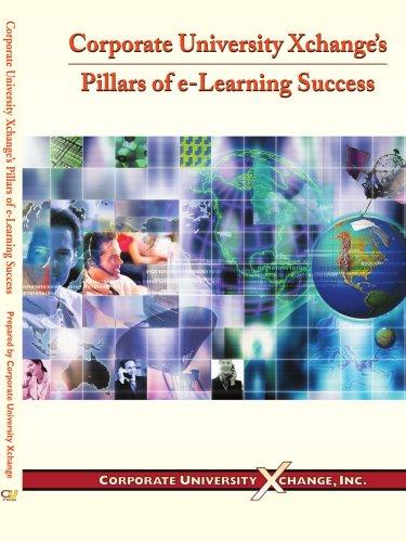 9780595212521: Corporate University Xchange's Pillars of e-Learning Success
