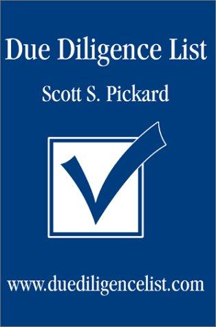 9780595261307: Due Diligence List: Www.Duediligencelist.Com