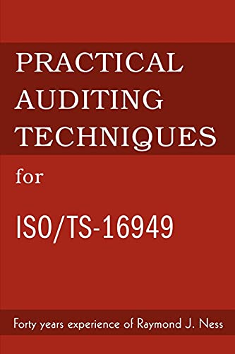 9780595273126: Practical Auditing Techniques for Iso/Ts-16949
