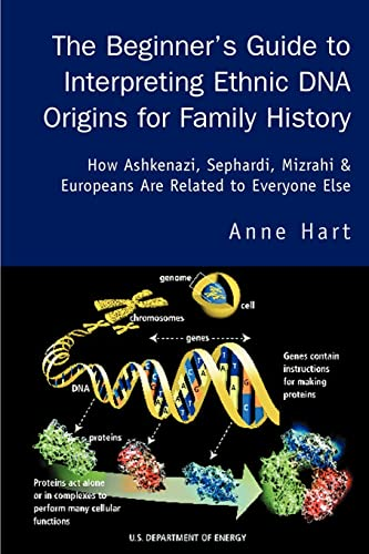 9780595283064: The Beginner's Guide to Interpreting Ethnic DNA Origins for Family History: How Ashkenazi, Sephardi, Mizrahi & Europeans Are Related to Everyone Else