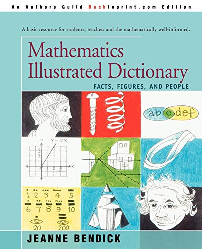 9780595287321: Mathematics Illustrated Dictionary: Facts, Figures, and People