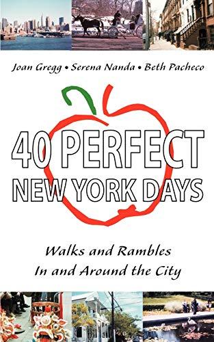 40 Perfect New York Days: Walks and: Joan Gregg, Serena
