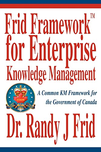 Frid FrameworkTM for Enterprise Knowledge Management A Common KM Framework for the Government of ...