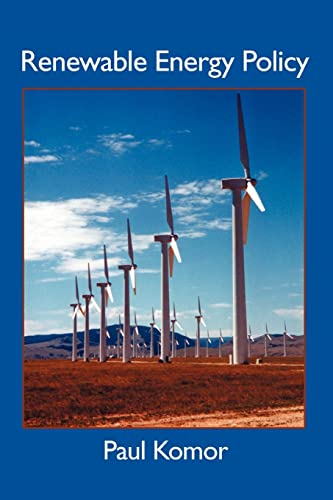 9780595312184: Renewable Energy Policy (Diebold Institute Monograph)
