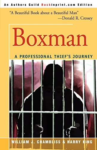 9780595322428: Boxman: A Professional Thief's Journey