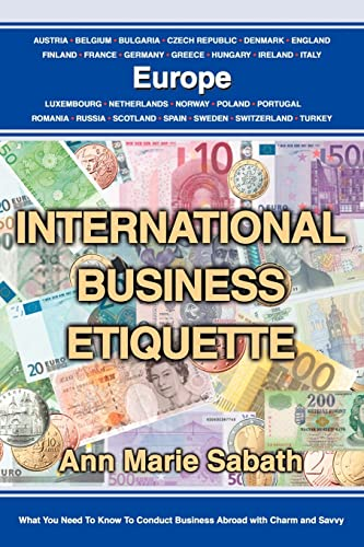 9780595323319: International Business Etiquette: Europe