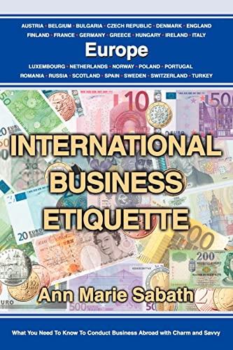 9780595323319: International Business Etiquette: Europe