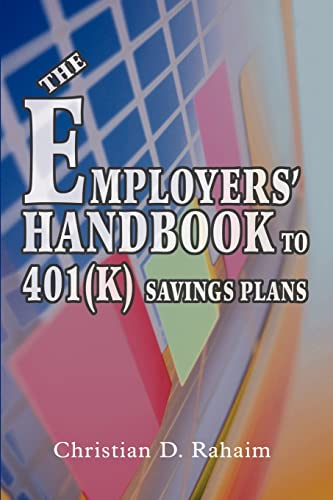 9780595336302: The Employers' Handbook to 401(k) Savings Plans