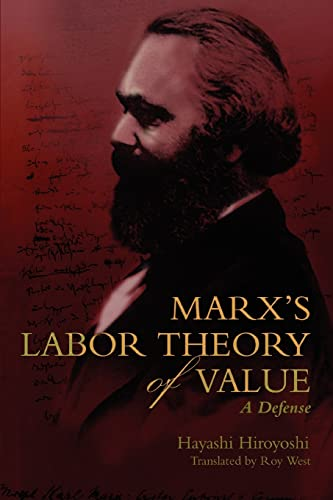 9780595346004: Marx's Labor Theory of Value: A Defense