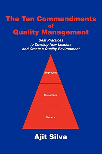 9780595357567: The Ten Commandments of Quality Management: Best Practices to Develop New Leaders and Create a Quality Environment
