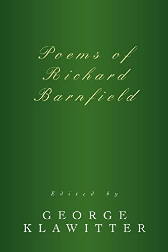 9780595367986: Poems of Richard Barnfield