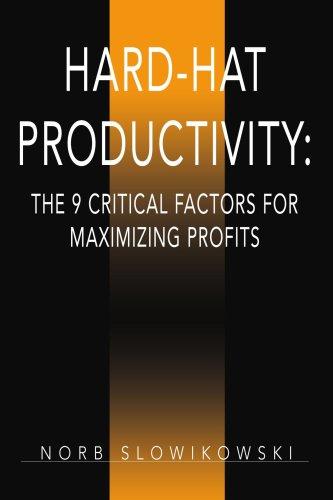 9780595397846: Hard-Hat Productivity: The 9 Critical Factors for Maximizing Profits: The 9 Critical Factors for Maximizing Profits